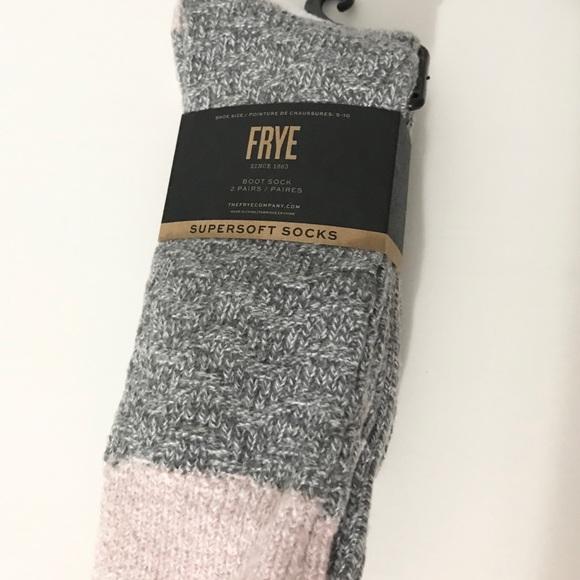NWT (1) Frye Women's Boot Sock